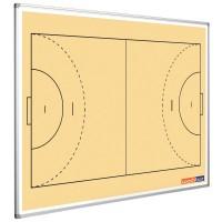 Handballtafel Smit Visual, Querformat