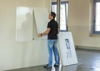 Whiteboard-System rocada Skin, 1500 x 1000 mm