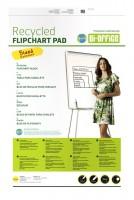 Flipchart-Block Bi-Office Recycled Flipchart Pad, 5 Stück