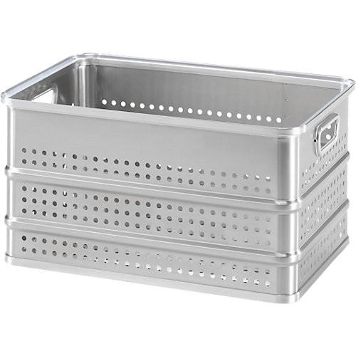 Aluminiumbox Gmöhling A 152/FK 35, gelocht
