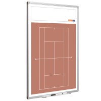 Tennistafel Smit Visual, Hochformat