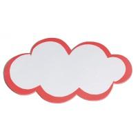 Moderationskarten Stöffler, wolkenförmig