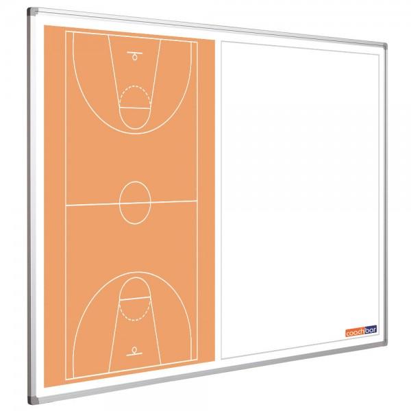 Basketballtafel Smit Visual, Querformat halbseitig