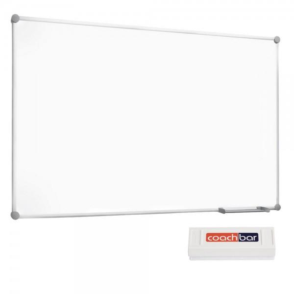Whiteboard MAULpro 2000, 1200 x 900 mm - inkl. Wischer
