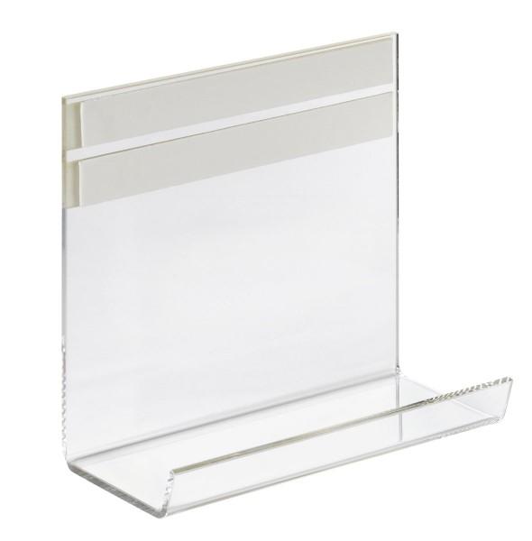 Ablageschale Franken für Glastafeln, transparent