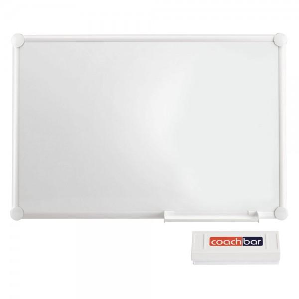 Whiteboard MAUL 2000 Iceboard, 900 x 600 mm - inkl. Wischer