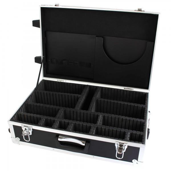 Moderatorentrolley coachbar, unbefüllt - mit Rollen und Teleskopgriff