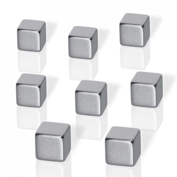 Neodym-Magnete Sigel, 8 Stück